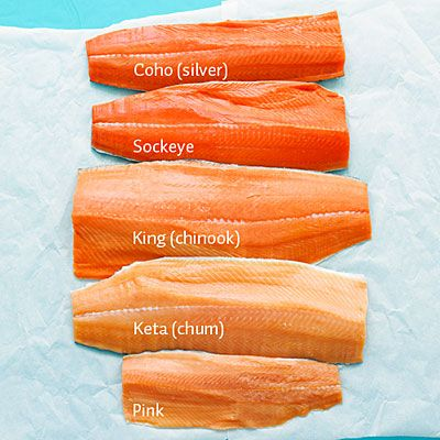 A Cook's Guide to Salmon plus salmon recipes from Seattle chefs.