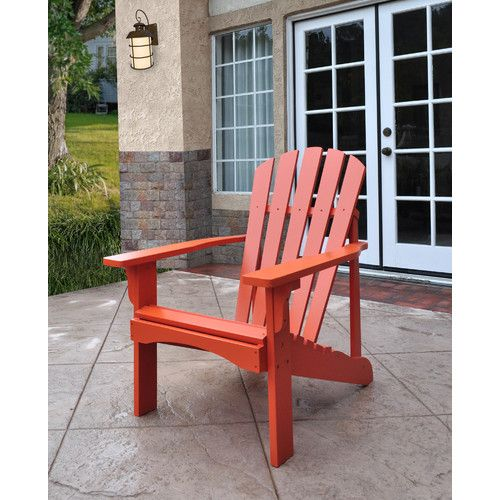 Shine Company Inc. Rockport Adirondack Chair & Reviews   Wayfair