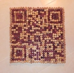 QR Code made from wine corks: http://www.scoop.it/t/anisesmith-qr-codes/p/1115376077/qr-code-made-of-wine-corks-o-vineyards-carcassonne-wine-blog: My Friend, Wine Corks, Wine Stuff, Qr Codes, Clever Qr, Manymanymany Corks, Food Wine, Code Spotting