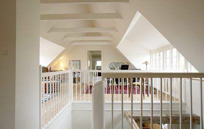 Arkitektoniske muligheder, når du inddrager loftet til beboelse