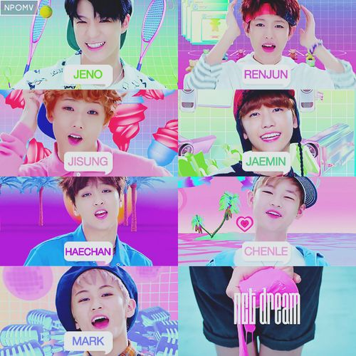 NCT Dream - Mark - Ren Jun - Jeno - HaeChan - JaeMin ...