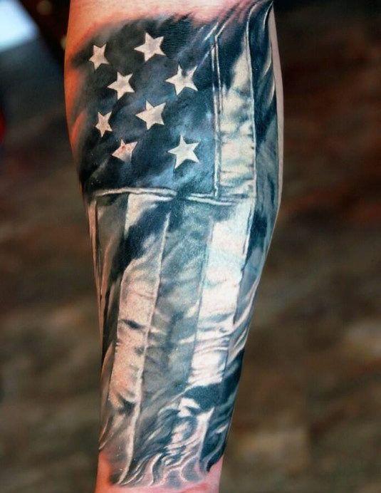 65655ef2b 75 Inner Forearm Tattoos For Men - Masculine Design Ideas | Tattoo ...
