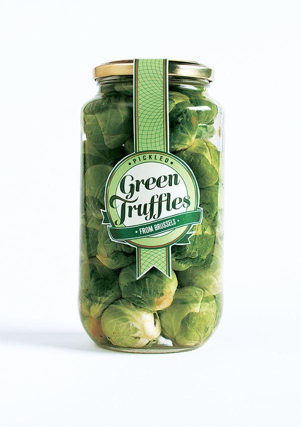 Green Truffles From Brussels (Rebranding Sprouts). by Matthew Prosser,