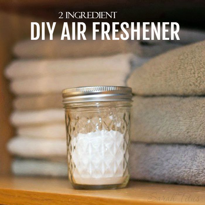 Making your own DIY Air Freshener could not be any easier. This recipe only calls for 2 ingredients and is really a powerful mixture that will help tame those stubborn smells.