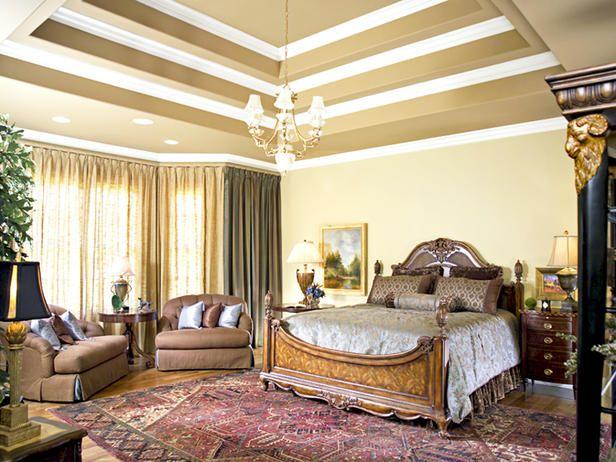 ELEGANT MASTER SUITE Elegant Bedrooms Bedroom Decor