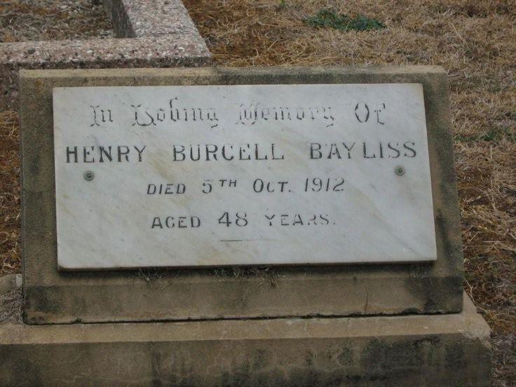 Henry Bayliss died 26 April, 1926, age 28 yrs, Quirindi, NSW.