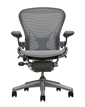 Five Best Office Chairs // I would buy that HM Aeron chair… if that E was and A, and it wasn't $1200.