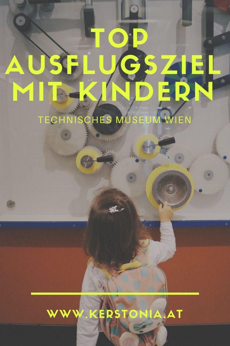 Top Ausflugsziel in Wien: Technisches Museum. Ideal für wissbegierige Kinder. Forscher Spaß für Groß und Klein. Indoor Spielplatz / Erlebniswelten. Kindergerecht.