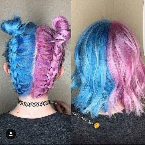 54 Crazy Pastel Haarfarbe Ideen für einzigartige Frisuren - Beauty-Tipps   - Hair - #BeautyTipps #Crazy #einzigartige #Frisuren #für