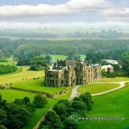 Allerton Castle Knaresborough North Yorkshire England Was There Yesterday Truly Magnificent WeddingsWedding Venues