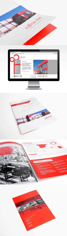 Delegación española de Fujitsu, el fabricante internacional de componentes electrónicos. Así desarrollamos su imagen de marca.