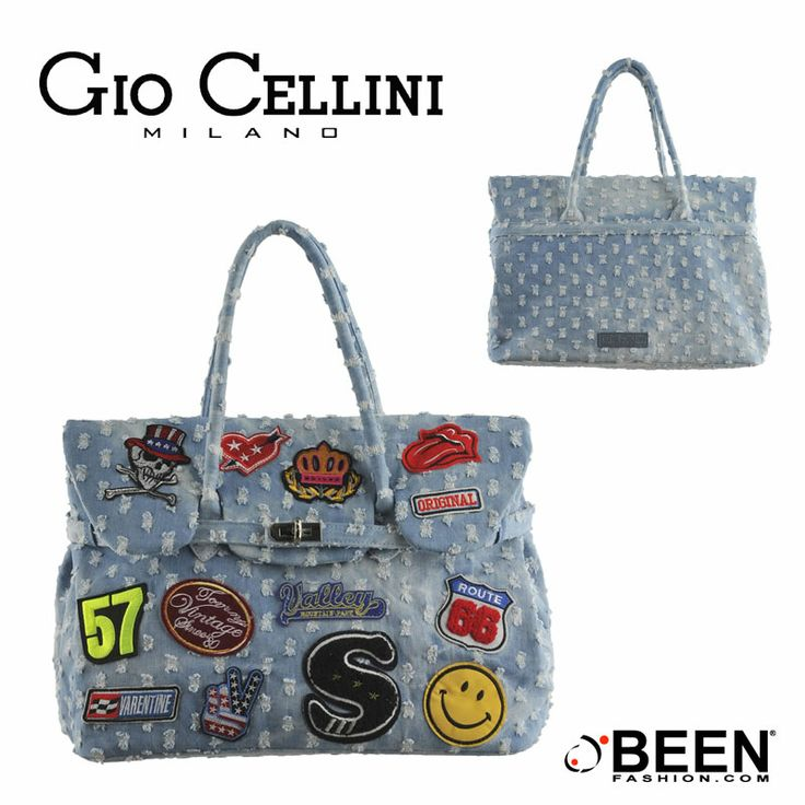Vuoi un accessorio fashion perfetto per la nuova stagione? Dai un'occhiata a questa borsa #denim #GioCellini! Potrebbe essere proprio ciò che stai cercando! http://www.beenfashion.com/it/gio-cellini-borsa-denim.html?utm_source=pinterest.com&utm_medium=post&utm_content=gio-cellini-borsa-denim&utm_campaign=post-prodotto