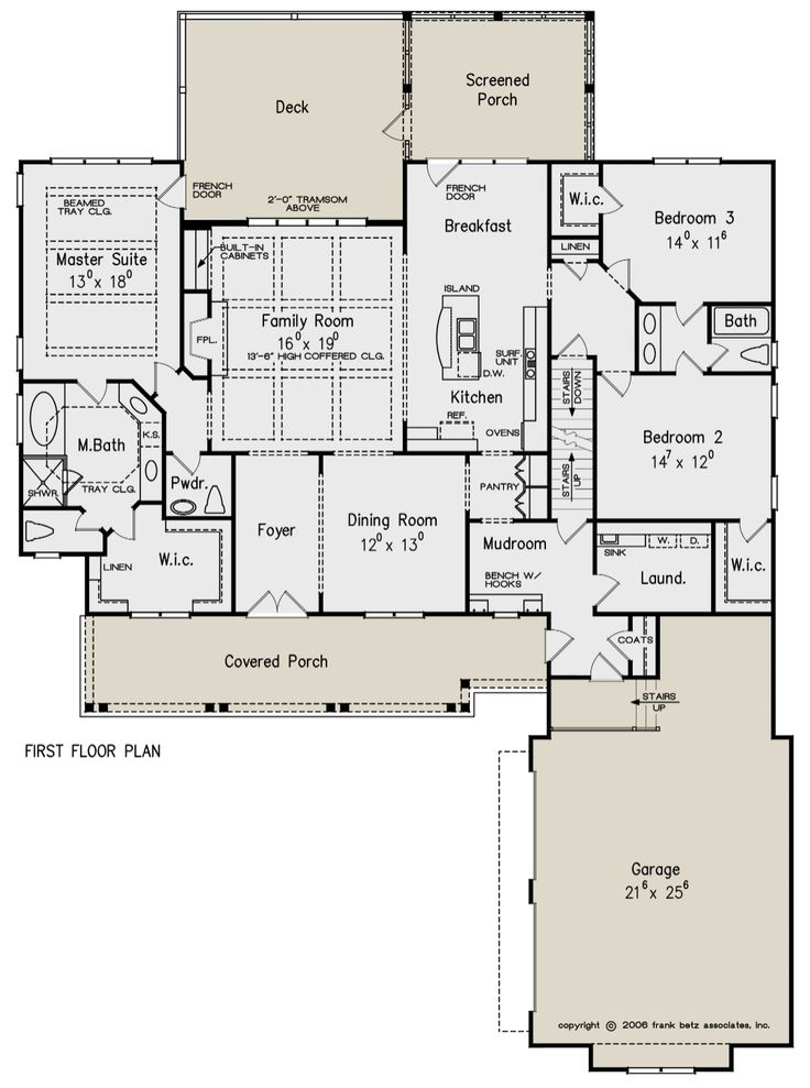 House  Plan  8594 00262 Country Plan  2 325 Square Feet 3