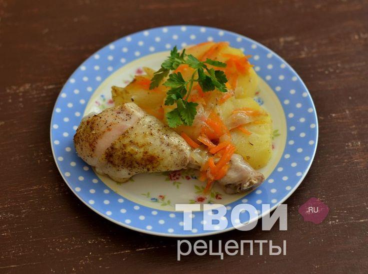 """""""Жаркое с курицей в мультиварке"""" - cамый вкусный рецепт :)"""