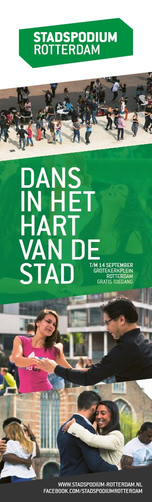 Informatiezuil voor Stadspodium Rotterdam