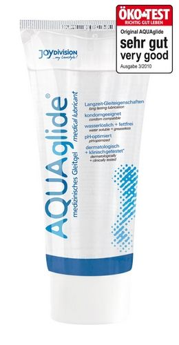 Aquaglide Glidecreme - 50 ml fra Aquaglide - Sexlegetøj leveret for blot 29 kr. - 4ushop.dk - AquaGlide er en vandbaseret glidecreme med høj glideevne. Dens optimale evner giver gode glideegenskaber over længere perioder. AquaGlide er ekstra hudvenlig, fri for konserveringsstoffer, vandopløselig og fedtfri, skader ikke kondomet, klinisk & dematologisk testet. Lugt-, smags- og PH-neutral.