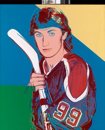 Warhol's Portrait of Gretzky