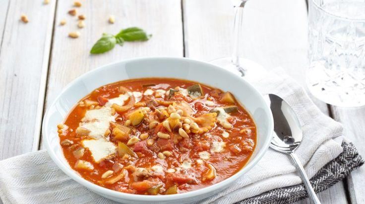 Romige Lasagnesoep met Cashewroomsaus.  Recept uit Kickstart van Lisa Steltenpool. #lasagne #soup