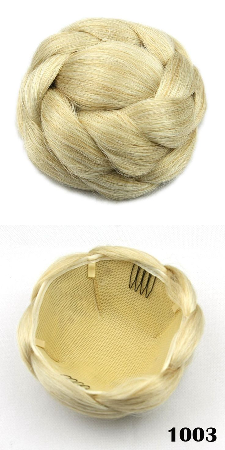 Fa fancy hair bun accessories -  Visit To Buy Soowee 6 Colors High Temperature Fiber Synthetic Hair Pieces Accessories Braided