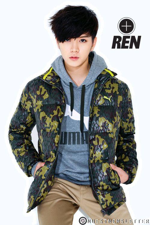 Ren - NU'EST OMG!!!! LOVE THIS HAIR CUT!!!!!!!!!!!!!!!!!!