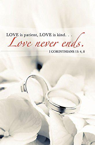 Love Never Ends/Rings Wedding Bulletin (Pkg of 50) by Abi... https://www.amazon.com/dp/1426736185/ref=cm_sw_r_pi_dp_x_hSiTybBZQ1YFA