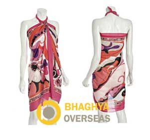 #printedpareo #pareo #wraparound #beachwear #cottonpareo #ladieswear #fashionaccessories #viscosepareo #printedbeachwear #cottonbeachwear  Hot Pink Floral Cotton Pareo  Bhaghya Overseas, Jodhpur  Manufacturer and Exporter of Handicrafts and Textiles
