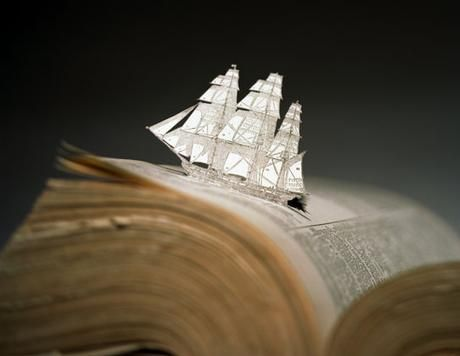 """sailing away with a good story...  Thomas Allen """"Swell"""" 2004 chromogenic print 20"""" x 24"""". Foley Gallery"""