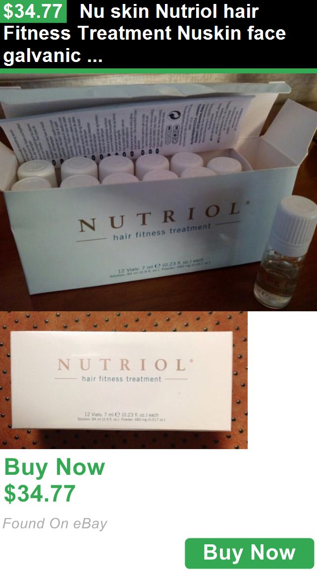 Medicated Hair Treatments 109075: Nu Skin Nutriol Hair Fitness Treatment Nuskin Face Galvanic Spa Ageloc Hair Spa BUY IT NOW ONLY: $34.77