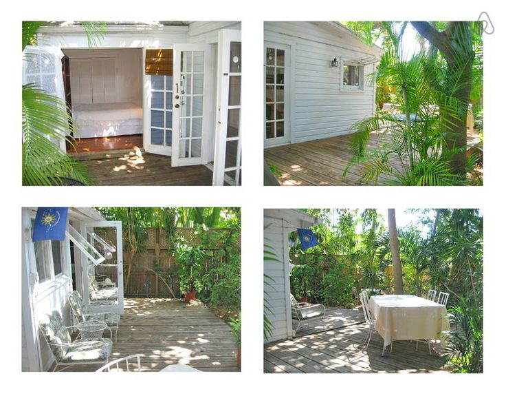 Apartment in Key West, United States. Private 1 bedroom apt in prime location in Old Town Key West, with large deck on private garden. Ideal for a couple.  We are seeking 30-day or 2 week rentals after May, but are now accepting weekly rentals.  You enter via a private walkway to the ... - Get $25 credit with Airbnb if you sign up with this link http://www.airbnb.com/c/groberts22