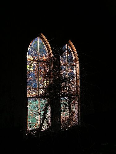 Abandoned Church, via Flickr Gothic Archit\u20acctur\u20ac Pinterest - Windows Fences