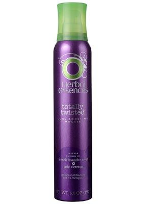 Herbal Essences Totally Twisted Curl Boosting Mousse Review   Allure