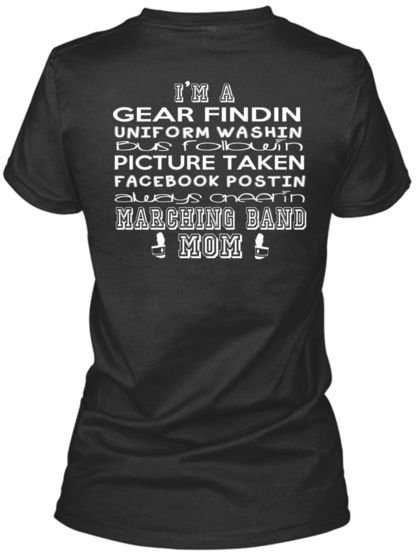 ***LIMITED EDITION*** Marching Band MOM