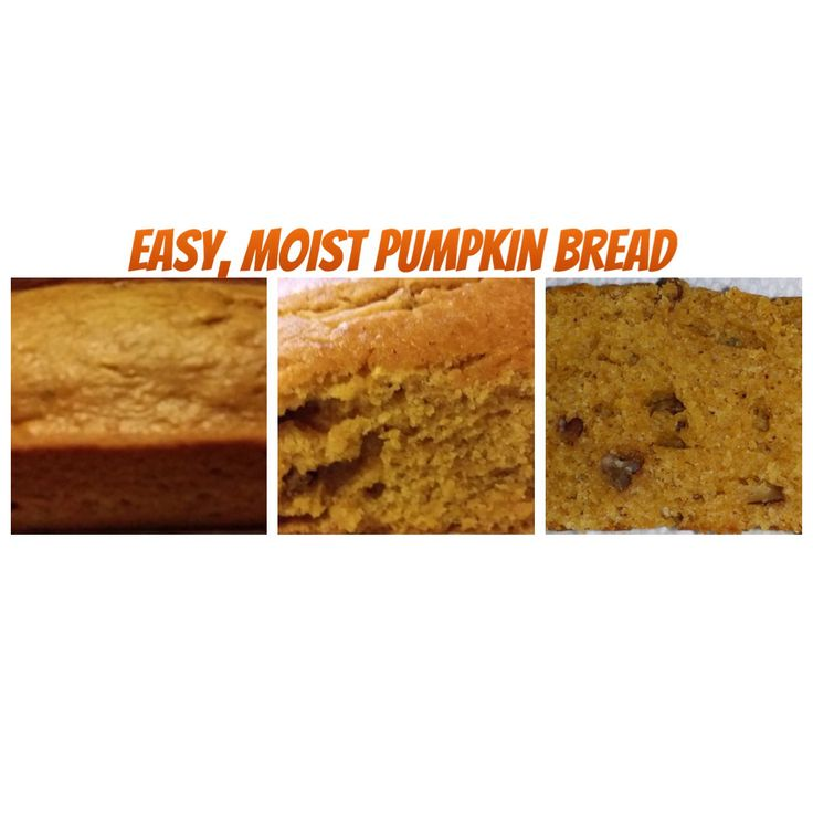 Easy, Moist Pumpkin Bread - I made this as a craving for something made of Pumpkin for the Fall.  It is a keeper!  I would rate it at a 5 on our Skog scale (0-5).  I added extra pumpkin, about 1/16 t. of Nutmeg and Cinnamon and 1/8 cup of pecan pieces.  Join us on Facebook in our meandering with food and travel on at: https://www.facebook.com/TipsTripsandTastyTidbits