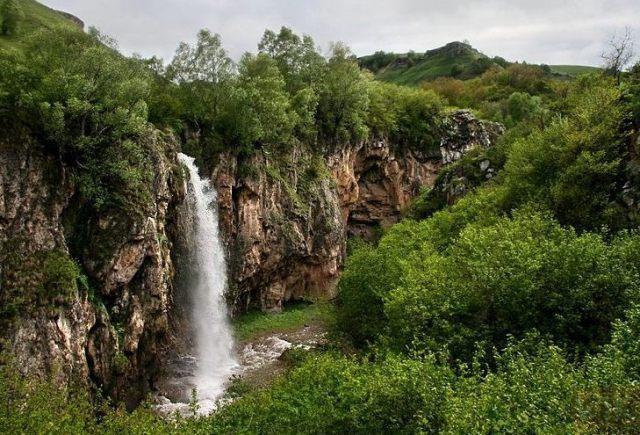Медовые водопады. Кисловодск.
