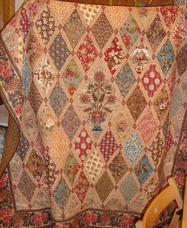 Beautiful Jane Austen Quilt Repro