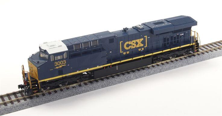 Intermountain HO 49718-01 GE ES44AC, CSX Transportation #3003 (Blue, Yellow, ''How Tomorrow Moves'' Logo) | ModelTrainStuff.com
