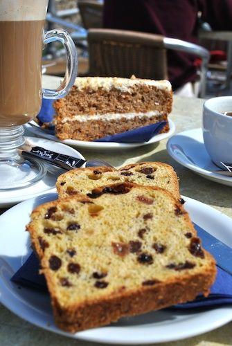 Cornish Saffron Cake - a traditional Cornish Food in #Cornwall