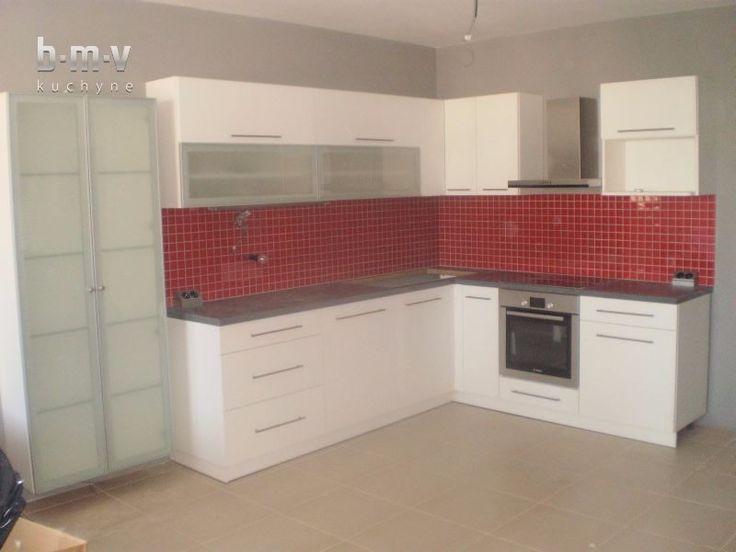 Biela matná kuchyňa - BMV Kuchyne