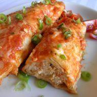 Fotografie receptu: Enchiladas s kuřecím masem