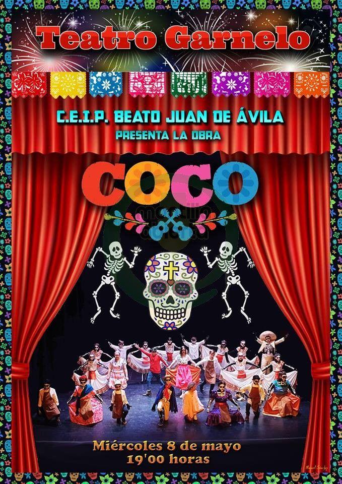 Representación Del Teatro Musical Coco A Cargo De Los Alumnos Del Beato Juan De ávila Montilla Abierta Teatro Musical Musical Venta De Entradas