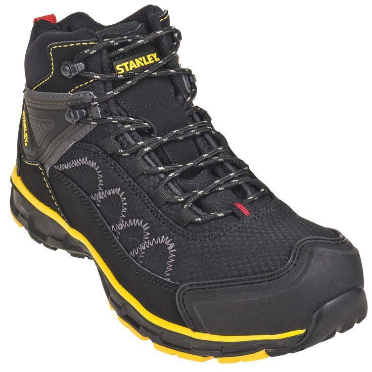 Stanley Boots Men's FSH5161S Black Axe 5.5-Inch Steel Toe Hiking Boots
