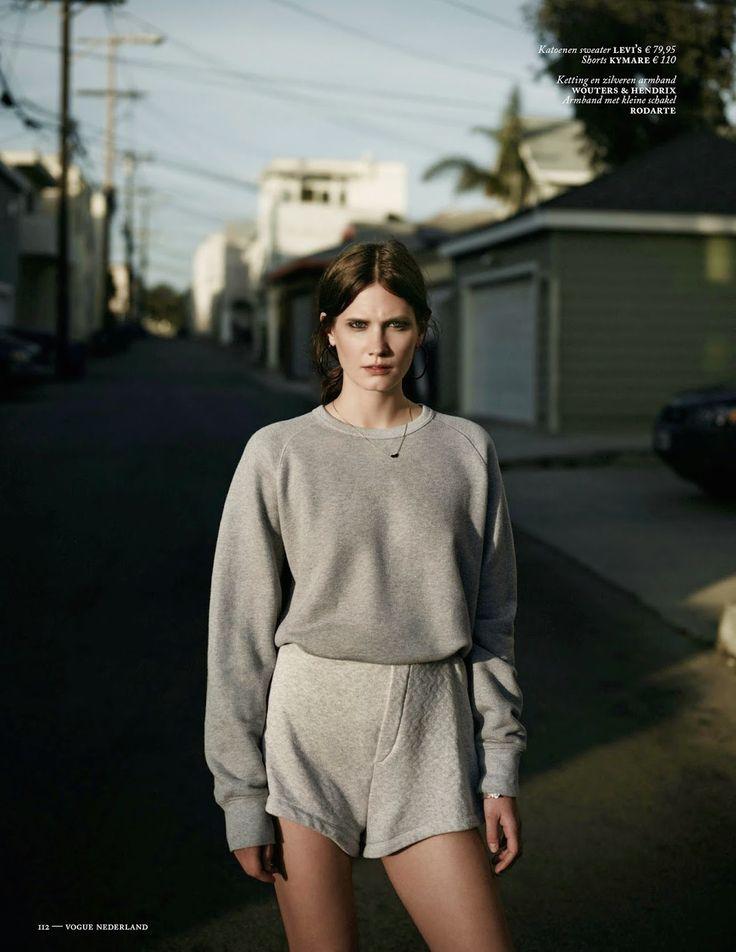 visual optimism; fashion editorials, shows, campaigns & more!: drake burnette by annemarieke van drimmelen for vogue netherlands july 2014