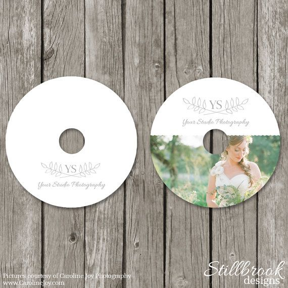 CD/DVD Label Templates - Wedding Photography CD Stickers - Photo Photoshop Design - CL10