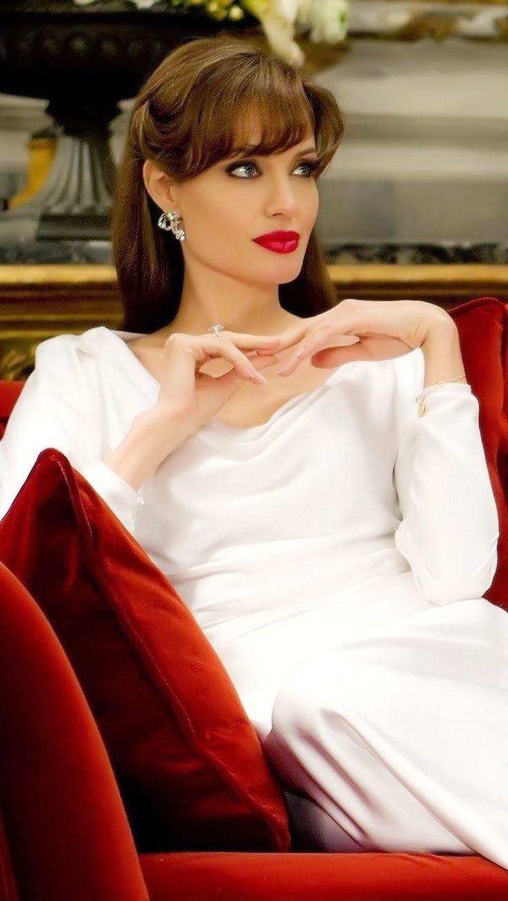 Angelina Jolie : Elite; White Angel