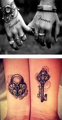 Tatuajes para parejas enamoradas imagenes