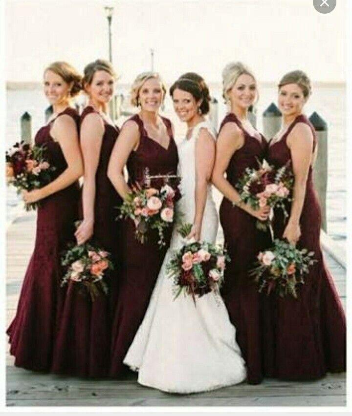 Best Wedding Images On Pinterest Marriage Burgundy Wedding