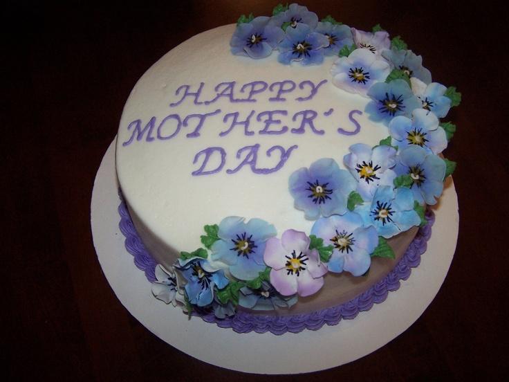 Mother's Day Cake www.mycakedecorating.com