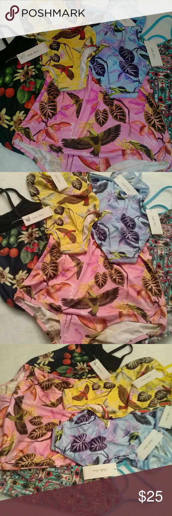 **STELLA COVE BATHING SUITS** ALL AGES. Very popular bathing suits as seen in Nordstrom and other high end department stores. Org.cost is $65. Al colors and sizes. BRAND NEW WITH TAGS. Stella Cove Swim One Piece