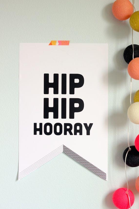 Printable Party Banners 633 best DIY Printables
