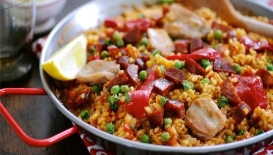 Paella - my favorite meal, easy to cook and bundles of flavor. Try it with chicken or seafood